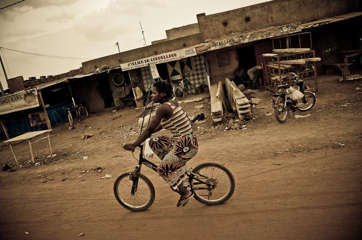 Promenade en velo – Burkina Faso