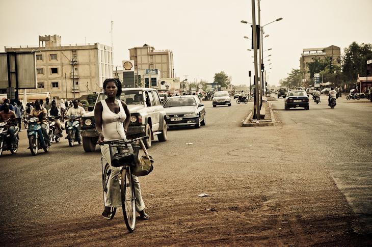 Stop à un carrefour – Burkina Faso