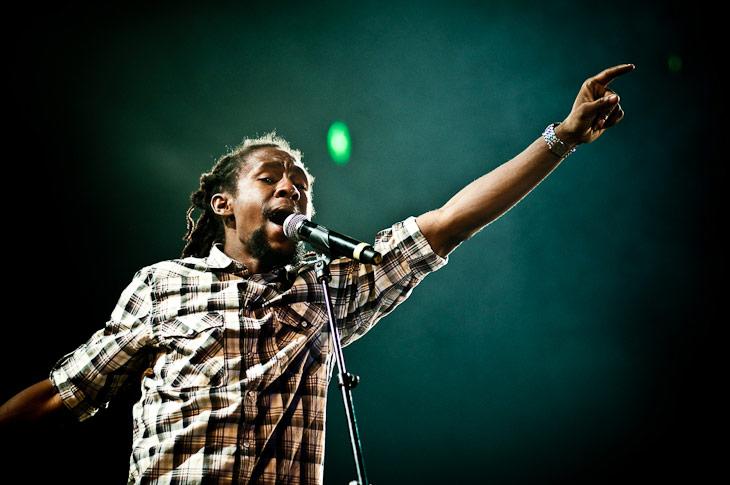 Siccature « Jah Cure » Alcock – Garance Reggae Festival 2010