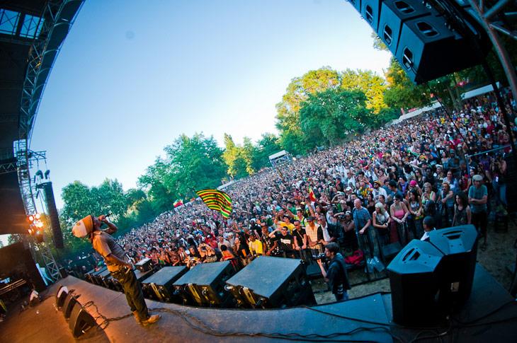 Sheldon «Turbulence» Campbell – Garance Reggae Festival 2010