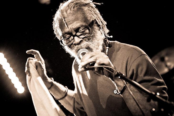 Watty»King» Burnett (The Congos) – EMB Sannois 2009
