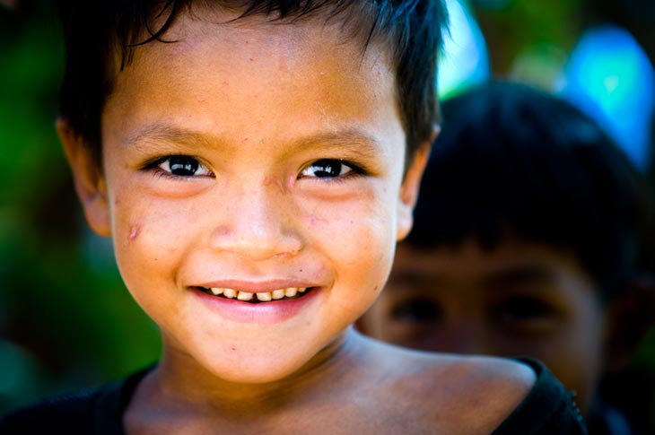 Regard d'espoir – Koh Dach – Cambodge