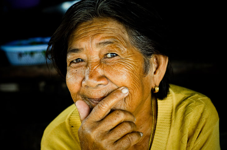 Grand ma' – Cambodge